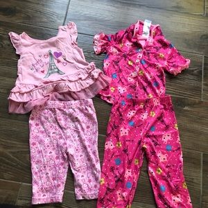 Other - 🌻 Bundle of girl Pajamas. 2t/3t